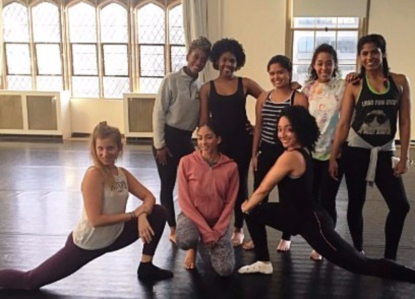 "Hunter College Dancers Perform Excerpts from ""dying and dying and dying"""